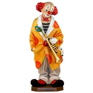 Clown mit Trompete